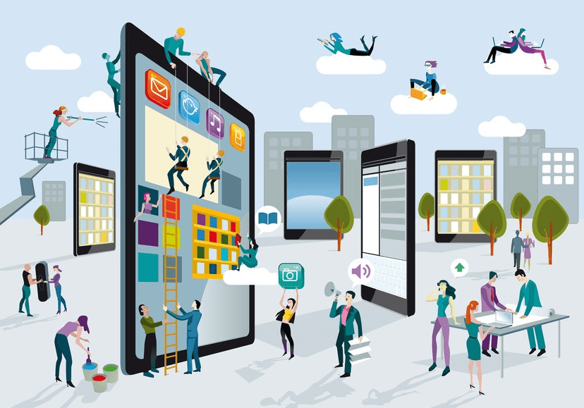the evolution of advertising through the use of mobile platforms