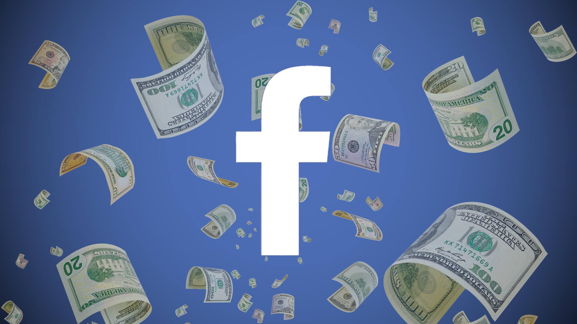 Чистая прибыль социальная сеть Facebook подросла на79% загод