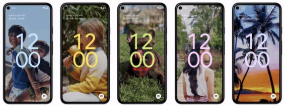 Персонализация в Android 12