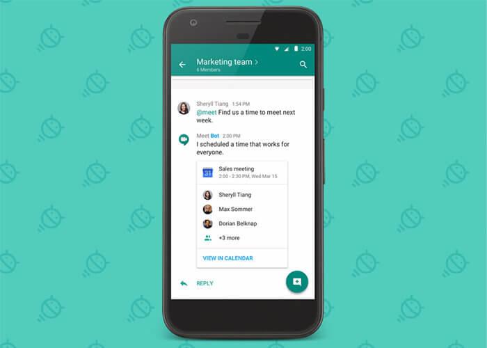 Google официально запустил корпоративный мессенджер Hangouts Chat