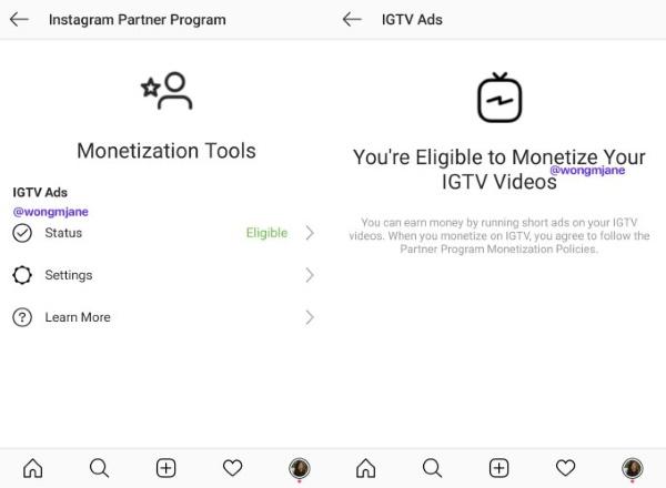 Новая партнерская программа для создателей контента позволит блогерам монетизировать ролики IGTV