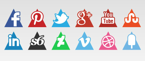 Triangle Vector Icons
