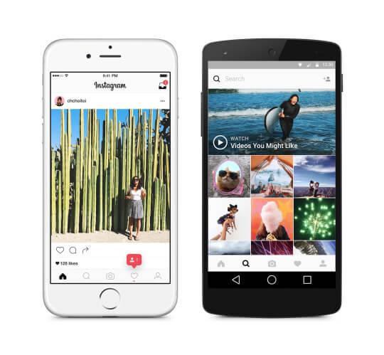 Instagram выкатывает нехронологическую ленту для всех пользователей
