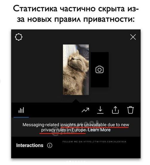 instagram статистика
