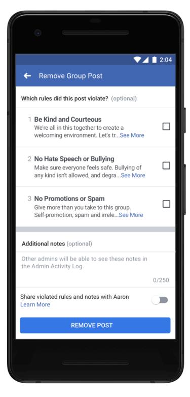 Facebook упростил управление сообществами