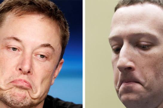Цукерберг и Маск в один день потеряли $3 млрд из-за падения акций