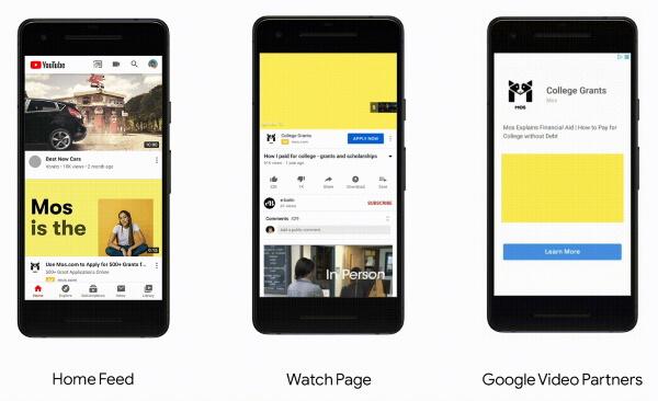 YouTube запустил новый тип кампаний с видеообъявлениями