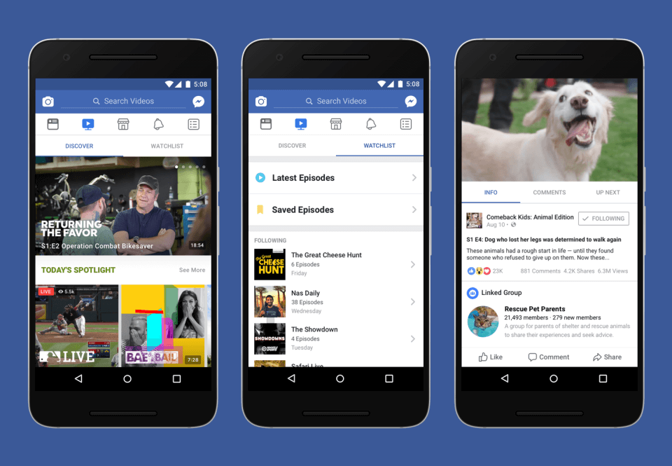 Создатели фейсбук представили пообразу иподобию видеосервиса YouTube