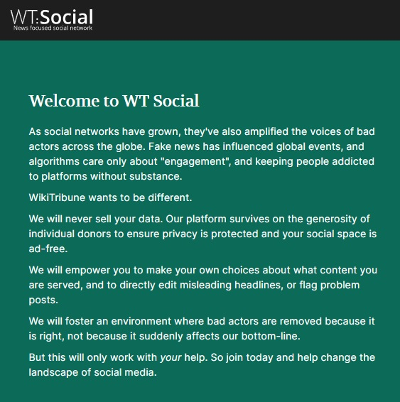 Проект WT: Social будет похож на «Википедию»