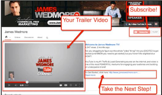 Как сделать трейлер канала для youtube