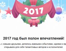 ВКонтакте запустил приложение для подведения итогов года