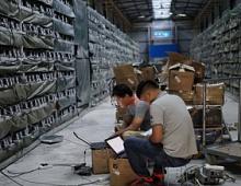 Власти Китая запрещают производство биткоинов