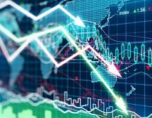 Курс биткоина упал на 25% за сутки