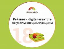 Рейтинги digital-агентств по узким специализациям 2018