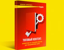 Ingate выпустил новую книгу «Топовый контент: шпаргалка по созданию текстов для продвижения сайта»