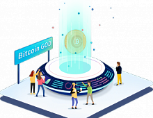 В сети биткоин произошел хардфорк Bitcoin God