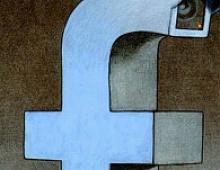 Стоимость Facebook упала на $9,5 млрд