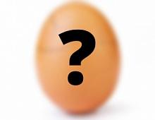 Яйцо-рекордсмен Instagram рассекречено