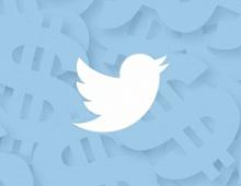 Рекламная выручка Twitter за год выросла на 29%