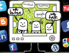 Инфографика: Шпаргалка по соцсетям для бизнеса