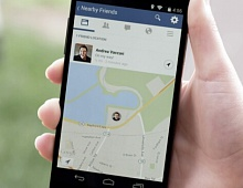 Facebook убрал карту из «Друзей поблизости»