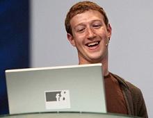 Марк Цукерберг провел прямую линию спользователями Facebook