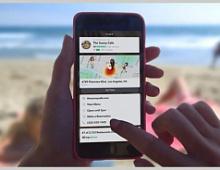 Snapchat запустил «Контекстные карточки» на основе местоположения
