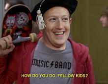 Facebook разрабатывает приложение с мемами для подростков