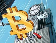 Курс биткоина опустился ниже $5 тысяч впервые за год